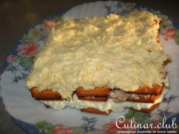 торт-салат нежность