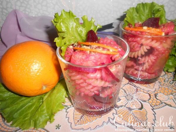 Салат из помидоров с винным уксусом