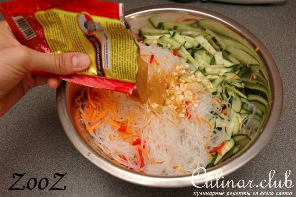 Рецепты салатов корейских с