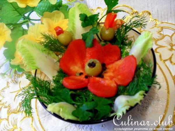 Рецепты праздничных салатов с пошаговым фото