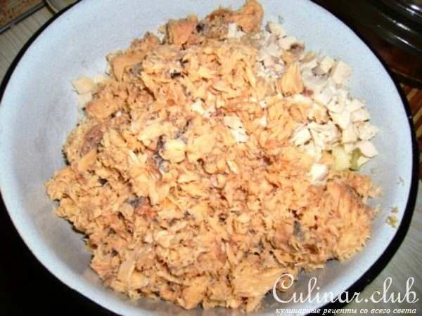 кулинарные рецепты с фотографиями салат бычок