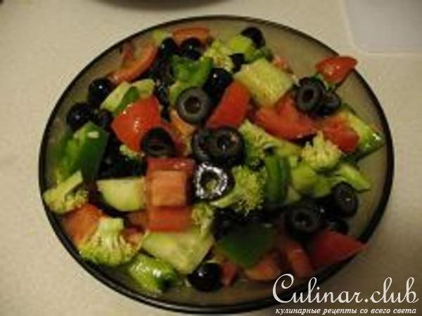 рецепты салатов из свежих овощей простые и вкусные
