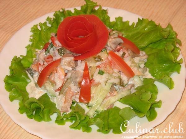 как готовить салаты рецепты с фото