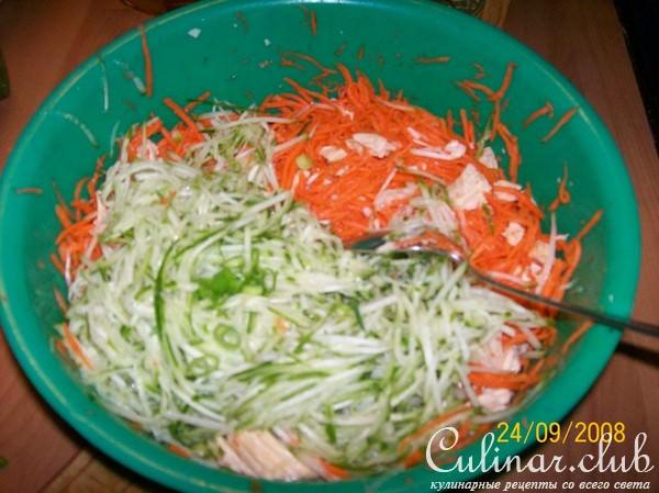 Вкусные салаты со спаржей рецепты