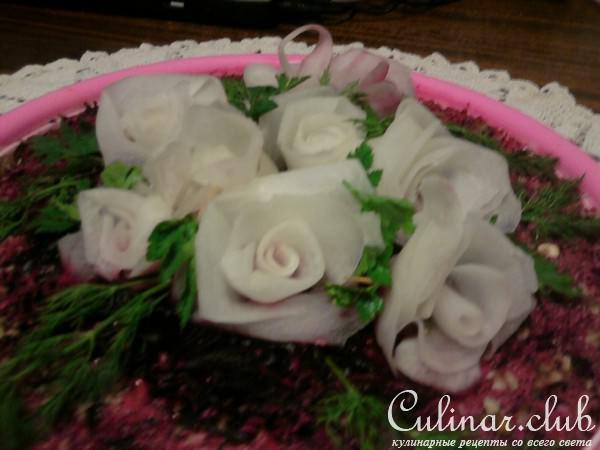Салаты букет невесты рецепт с