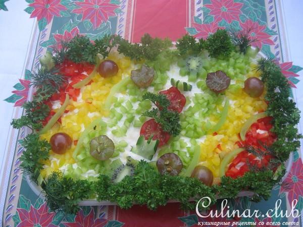 рецепты салатов 2011 с фото