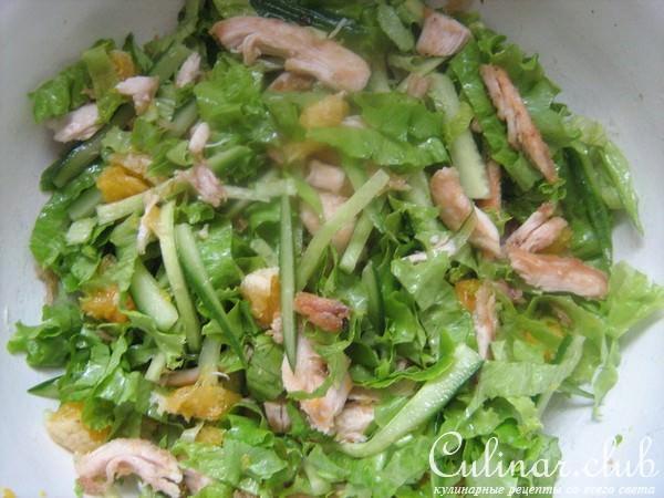 Какой салат приготовить из куриной грудки и грибы