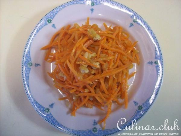 Морковка по корейски с мясом рецепт