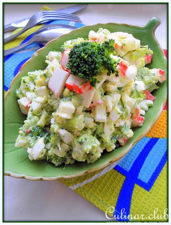рецепты салатов из замороженной цветной капусты