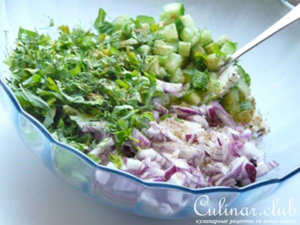 Салат египетский рецепт с