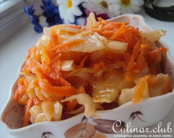 соленая капуста корейская
