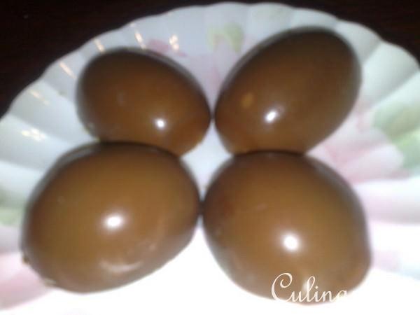 Как яйцо сделать шоколадное