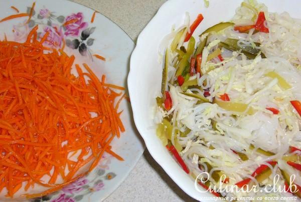 рецепты салатов из риса с фото
