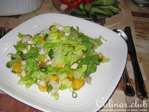 простой салат манго рецепт фото