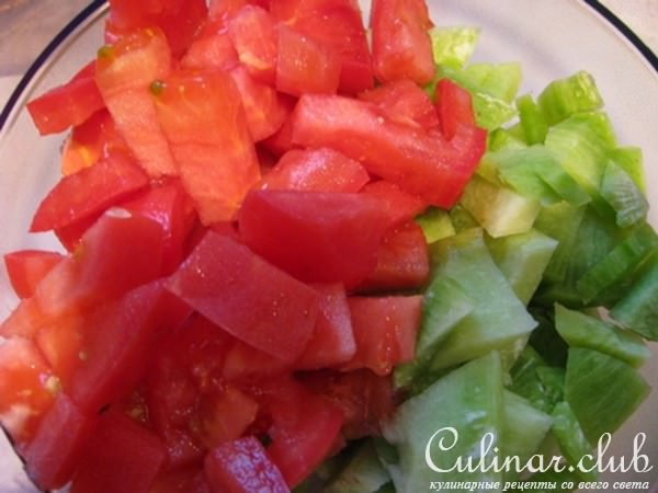 Фото пошаговых рецептов легкие салаты