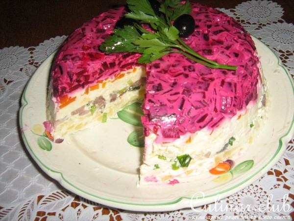 Рецепты овощных тортиков