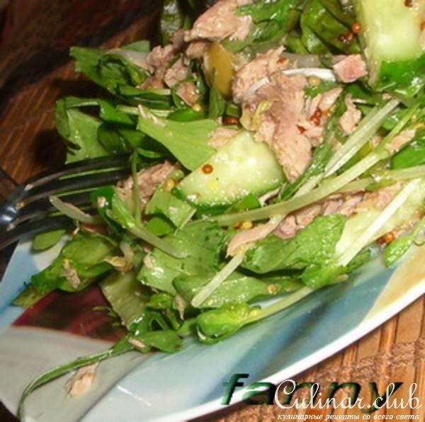 Простые салаты с руколой рецепты