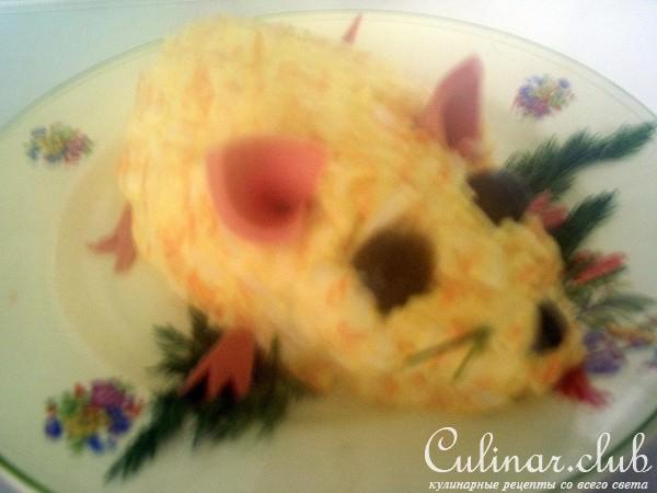 Салат мышки в сыре рецепт 180