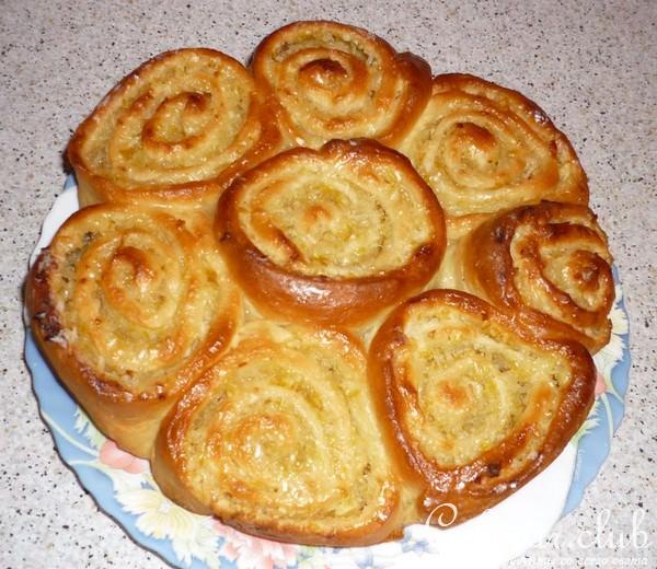 Лимонный пирог из дрожжевого теста рецепт пошагово