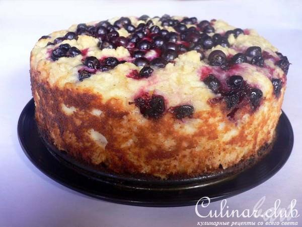 Рецепт пирога с смородиной и творогом рецепт