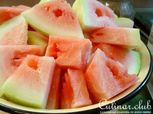 Маринованные арбузы пошаговый рецепт с картинками
