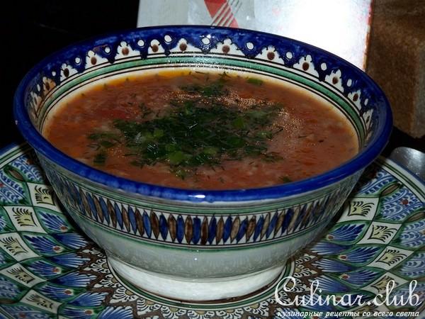 Суп мастава рецепт с фото