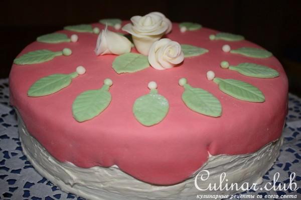 Торт розовая мечта фото