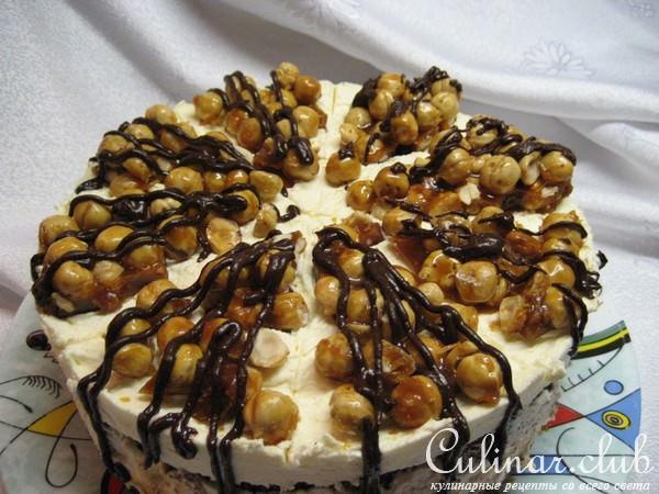 Торты с орехами рецепты в домашних условиях с фото