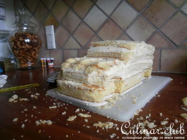 Торт машина бисквит