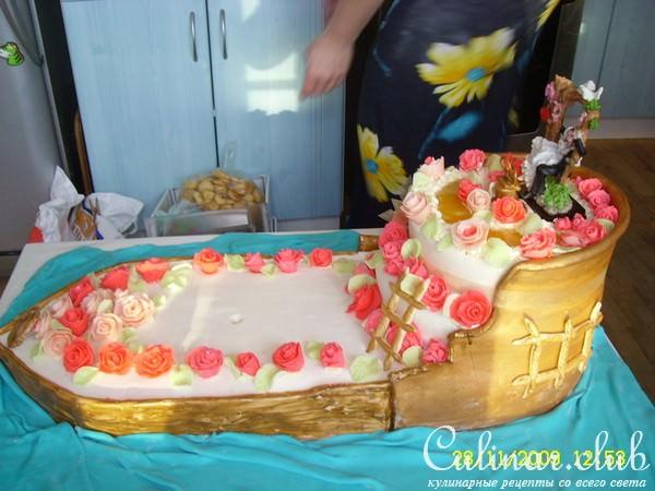 Фото торта на свадьбу пошаговый