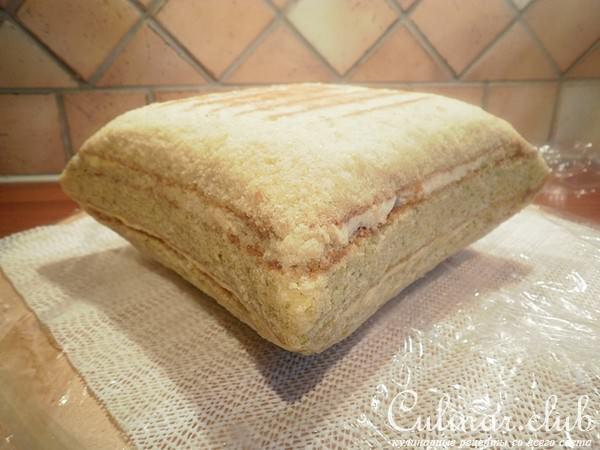 Как сделать подушку из бисквита