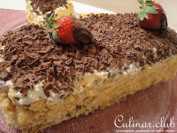 Швейцарский торт рецепт с фото