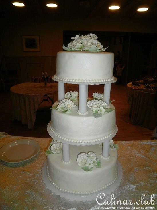 Свадебный торт рецепты фото