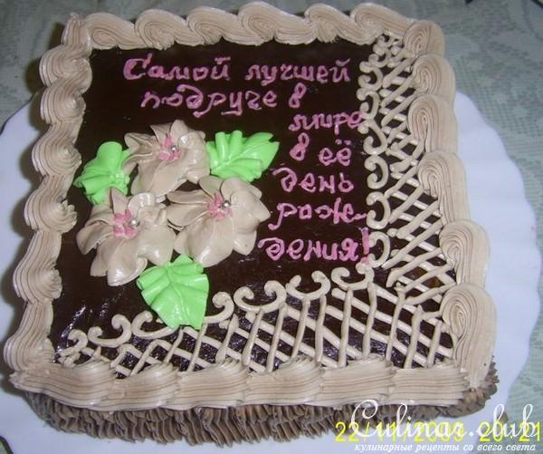 Как сделать глазурь для надписей на торте - Все Березники