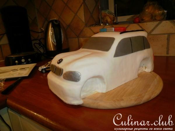 Как сделать торт машину из мастики в домашних условиях