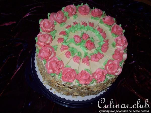 Украсить торт в домашних условиях масляным кремом 138