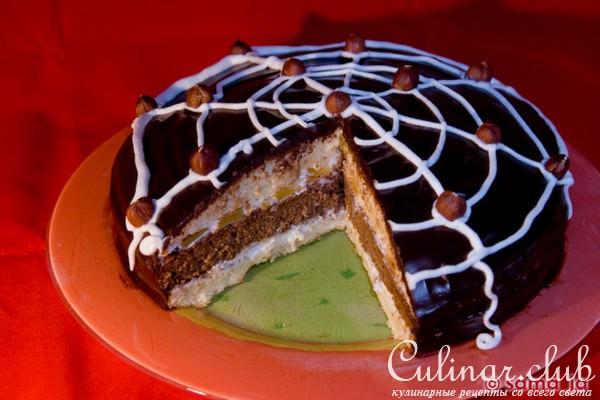 Как сделать паутинку для торта 323