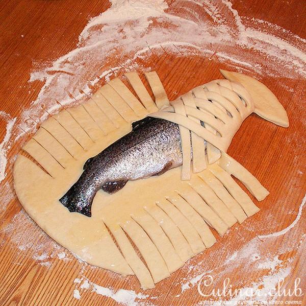Как сделать тесто пирога с рыбой