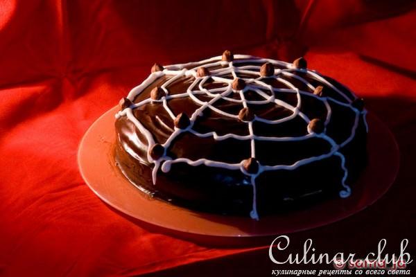 Торт паутинка рецепт по госту