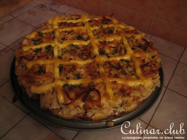 Пицца сушек рецепт с фото