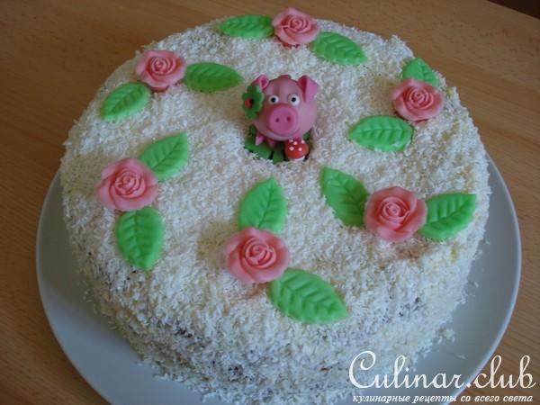 Простые торты на день рождения рецепты