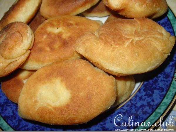 Слоеные пирожки с картошкой рецепт фото