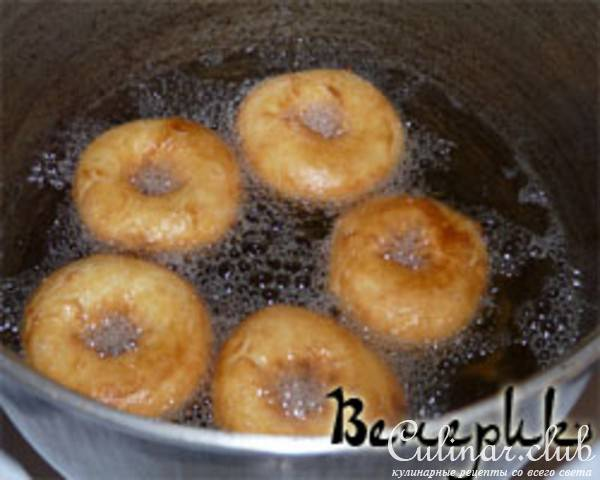 Творожные колечки жареные в масле рецепт пошагово в