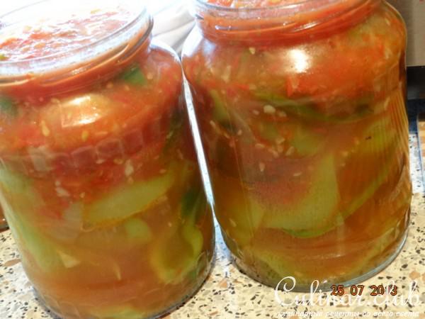 Рецепт перца в томатном соке консервация