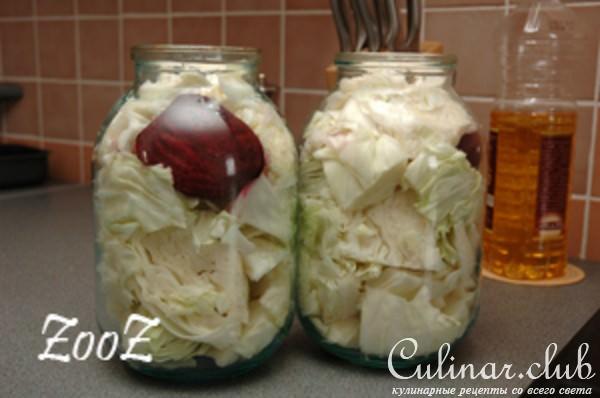 Рецепт как сделать красную капусту