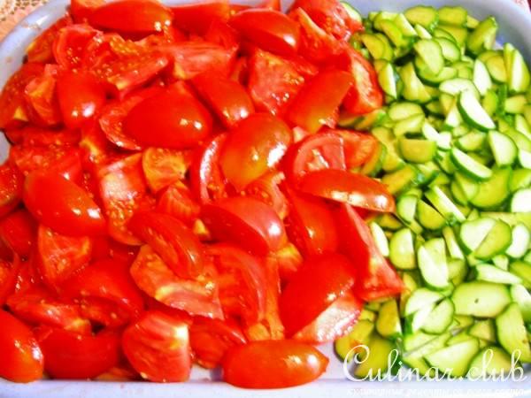 Салаты консервированные из помидоров и огурцов на