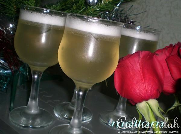 Десерт из шампанского фото рецепт